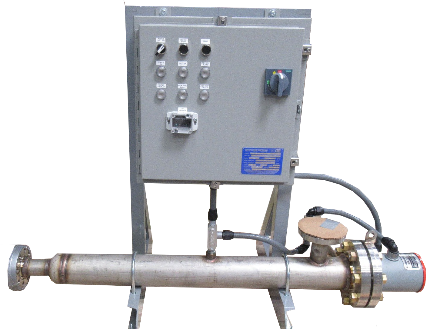 Electric Immersion Trim Heaters - Acme Cryogenics